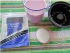 Cách làm bánh Pudding dâu sữa bé thích mê