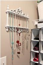 Mẹo hay giúp trang sức luôn gọn đẹp trong phòng