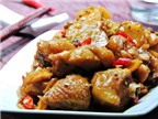 Thịt gà kho gừng: một món ăn, một bài thuốc!