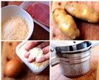 Cách làm khoai tây viên chiên xù