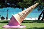 Những tác phẩm nghệ thuật lấy cảm hứng từ kem