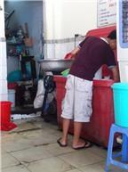 Tràn lan nước đá mất vệ sinh