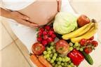 3 tháng cuối thai kỳ nên ăn gì?