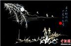 Thú vị nghệ thuật vẽ tranh bằng xương cá