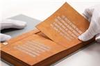Độc đáo phát minh cuốn sách có thể làm sạch nước