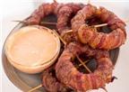 Ngon miệng với vòng tròn thịt xông khói (bacon)