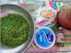 Cách làm bánh dẻo trung thu nhân cốm xanh mát, lạ miệng