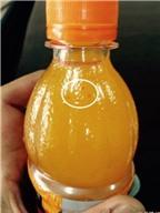 Nước cam có tép của Coca-Cola thiếu an toàn vệ sinh thực phẩm?