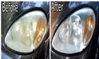 Cách làm mới đèn ôtô bằng kem đánh răng cực đơn giản