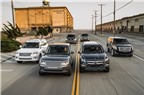 So sánh SUV hạng sang cỡ lớn: Cadillac Escalade vs. Lexus LX vs. Mercedes GL-Class vs. LR Range Rover vs. Infiniti QX80 vs. Lincoln Navigator