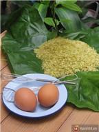 Trứng rán cốm: Món ngon mùa cốm cho bạn vụng về