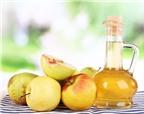 Bí quyết giảm cân và detox bằng giấm táo