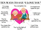 10 cách lãng mạn để nói 'I love You'