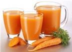 Bí quyết giảm cân bằng cà rốt