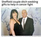 Thay quà cưới bằng góp quỹ chống ung thư