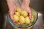 Cách làm khoai tây ăn kèm sườn nướng không cần dùng dầu mỡ