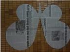 Cách làm lồng đèn bằng giấy hình con bướm cho bé chơi Trung thu
