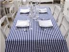 20 mẫu khăn trải bàn tuyệt đẹp cho bàn ăn thêm quyến rũ