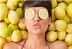 6 loại mặt nạ trắng da, trị mụn từ quả chanh