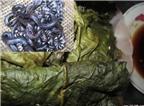 Ngon, nồng ấm với món rắn trun nướng lá nhàu