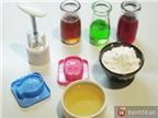 Cách làm bánh dẻo đủ màu mà không cần dùng đến phẩm