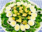 Salad trái bơ đơn giản mà thanh mát ngon miệng