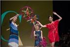 Độc đáo mẫu Việt mặc thời trang Trung thu