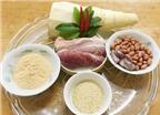 Cách làm gỏi măng thịt heo trộn thính lạ miệng đưa cơm