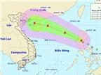 Tâm bão số 4 cách quần đảo Hoàng Sa 410km, gió giật cấp 12