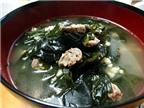 Cách nấu canh rong biển thịt bò mát bổ, ăn rất ngon