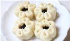 Bí quyết làm bánh bao hình hoa nhân socola đẹp mắt