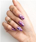 4 cách vẽ móng tay vân đá cẩm thạch cực đẹp