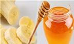 Cách làm mặt nạ trị mụn thâm từ chuối và mật ong