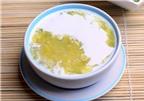 Cách nấu chè cốm đậu xanh sữa dừa ngon tuyệt