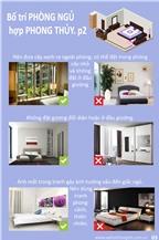 Bố trí phòng ngủ hợp phong thủy (Phần 2)