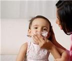 Xử tri viêm mũi ở trẻ nhỏ khi trời lạnh