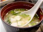 Ngừa bệnh từ súp miso