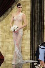 12 mẫu váy cưới trong suốt khoe cơ thể sexy