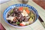 7 cách làm món đậu phụ sốt nóng hổi
