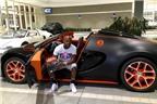Mayweather khoe siêu xe Bugatti mới mua