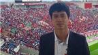 Công Phượng trả lời phỏng vấn trôi chảy bằng tiếng Anh trên đất Nhật