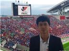 Sốt: Công Phượng trả lời phỏng vấn bằng tiếng Anh ở Nhật