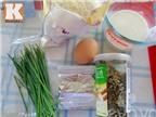 Cách làm bánh mỳ cuộn ruốc kiểu Hồng Kông