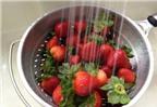Cách rửa rau quả sạch nhất