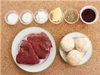 Thịt bò áp chảo sốt nấm tuyệt ngon