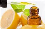 Những công dụng hữu ích của tinh dầu chanh