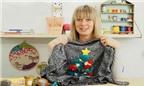 Cách biến áo len thường thành áo Noel độc lạ