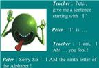Truyện cười tiếng Anh chủ đề giáo viên và học sinh