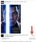 Cách làm ảnh đại diện Facebook với kiếm ánh sáng trong Star Wars