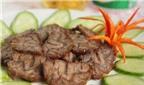 Cách làm món thịt bò rim thơm ngon chuẩn vị miền Trung